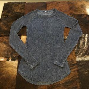 Lululemon Cabin Yogi Sweater Heather Grey